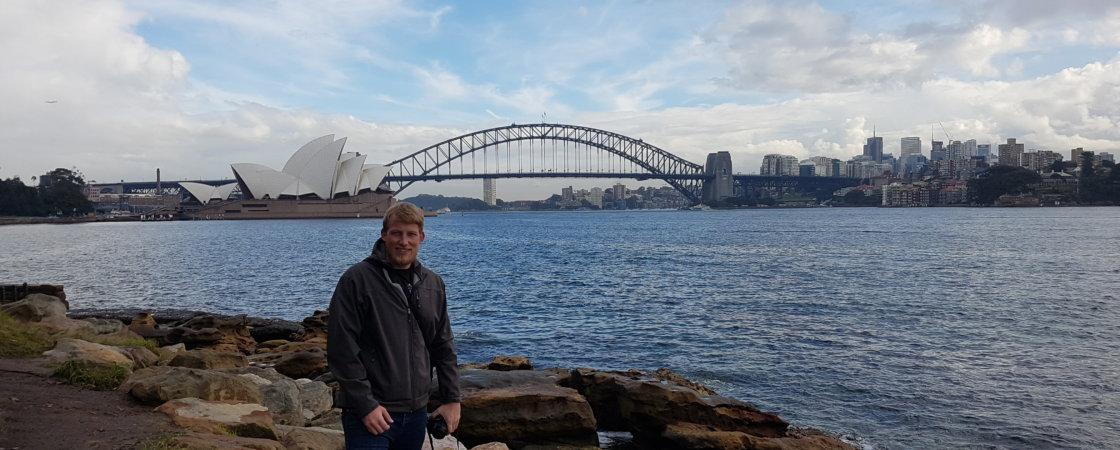 Tobias in Sydney
