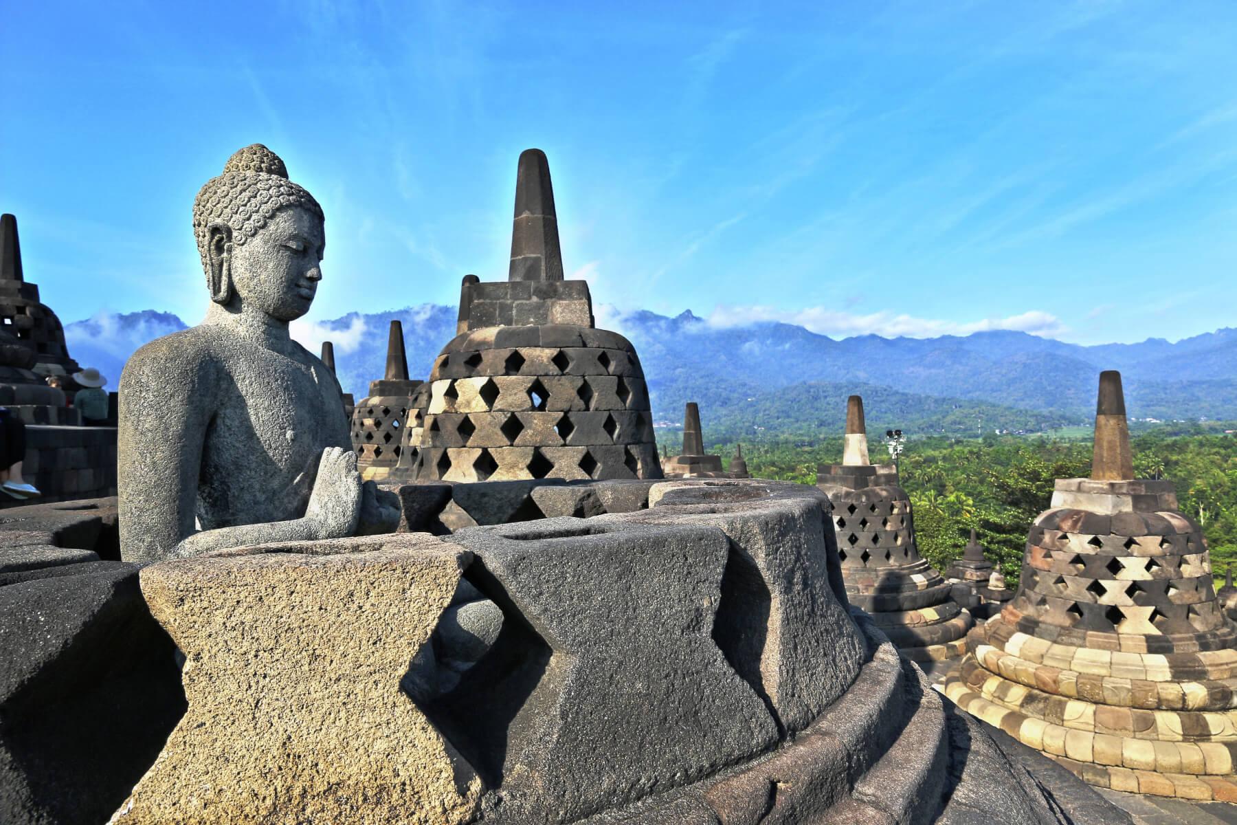 indonesia java borobodur II