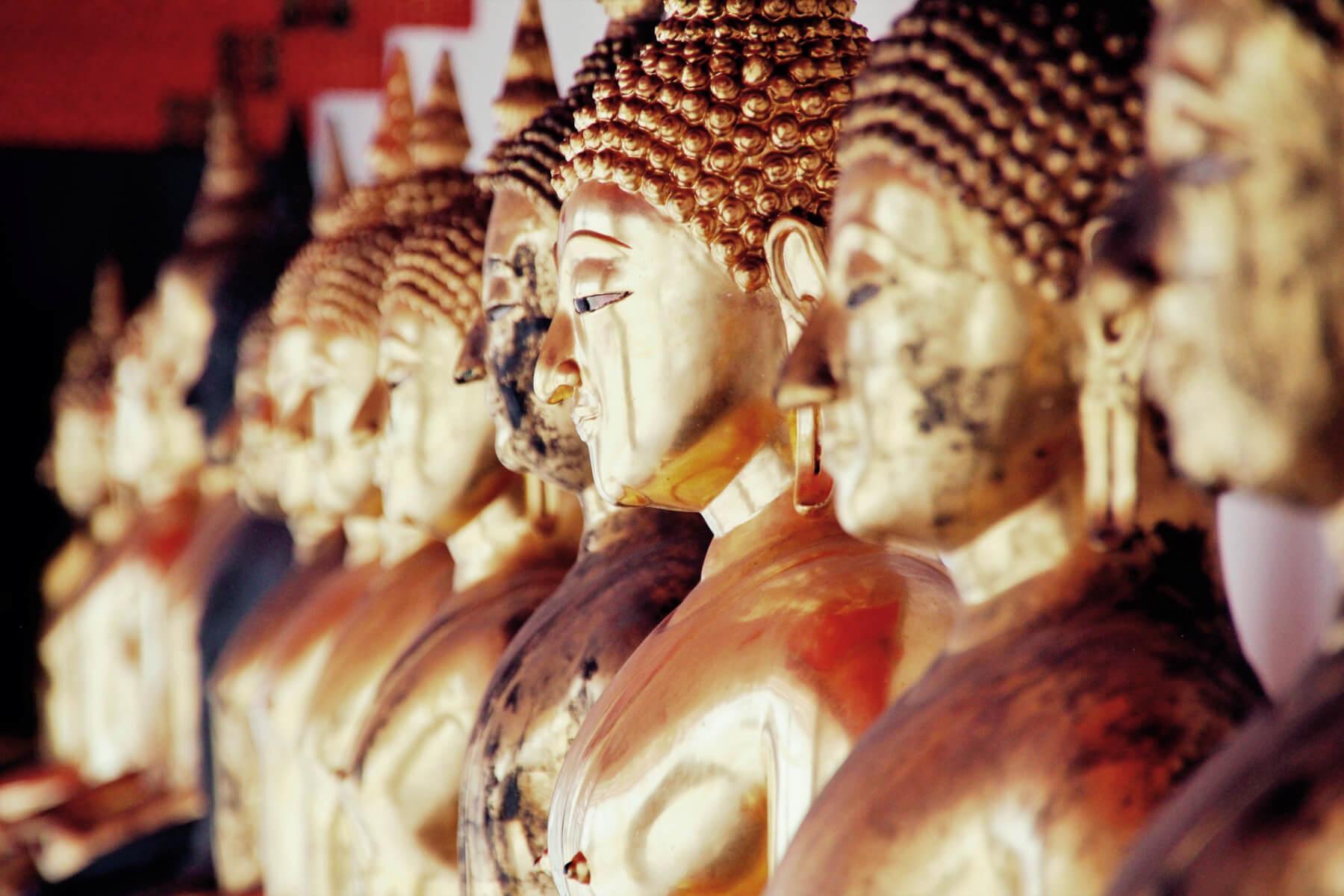 Thailand Buddha Gold