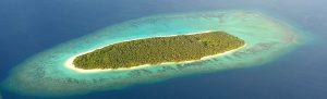 Insel von oben