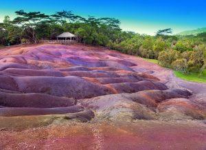 Mauritius siebenfarbige Erde