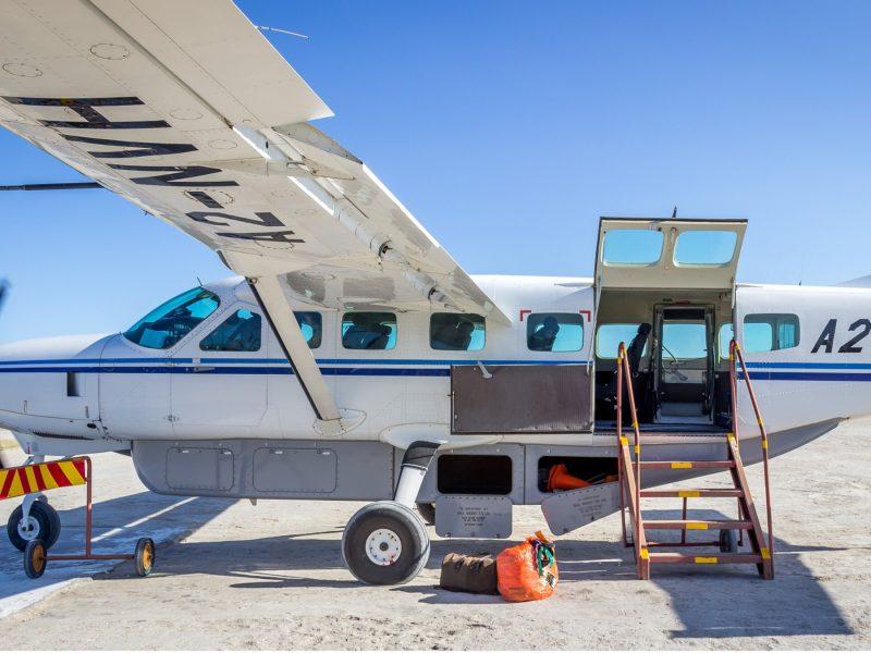 Flug Reise Namibia