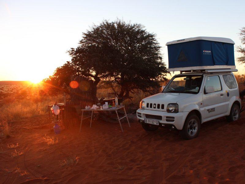 Mietwagen-Reise-Namibia