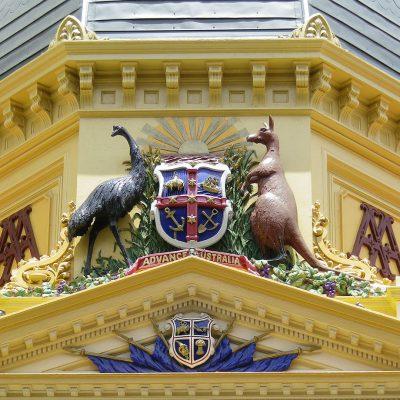 Adelaide aussie Wappen